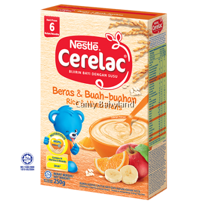 NESTLE Cerelac Rice & Mix Fruits 250g