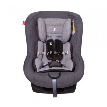 SNAPKIS - Transformers Car Seat 0-4years (Grey Melange/Black)