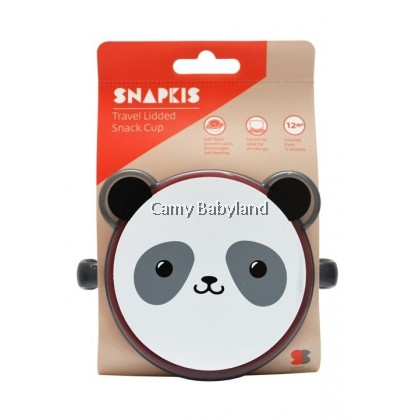 Snapkis Lidded Snack Cup (Panda)