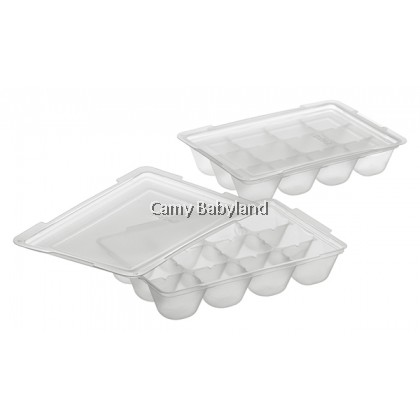 Richell - Baby Food Freezer Tray (15ml x 24 portions) - Baby Food Storage Tray BPA Free