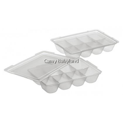 Richell - Baby Food Freezer Tray (25ml x 16 portions) - Baby Food Storage Tray BPA Free