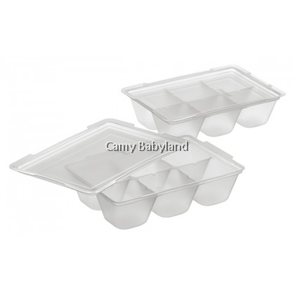 Richell - Baby Food Freezer Tray (50ml x 12 portions) - Baby Food Storage Tray BPA Free