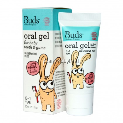 Buds Oral Gel For Baby Teeth & Gums With Xylitol 30ML