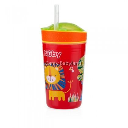 Nuby Snack N'Sip Straw Cup 9oz/270ml