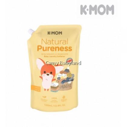 K-Mom Naturefree Organic Baby Fabric Softener 1300ml (Refill Pack)