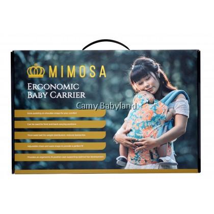 MIMOSA ERGONOMIC BABY CARRIER - GARDEN PARTY