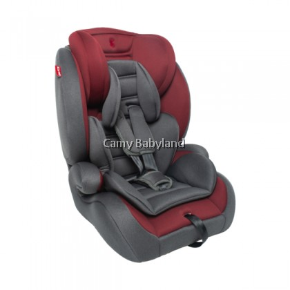 Snapkis Tristage 1-11 Car Seat (Maroon/Grey)