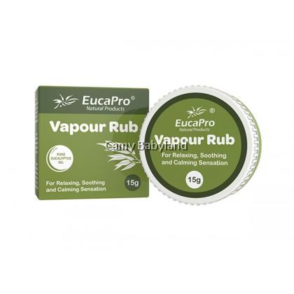 EUCAPRO VAPOUR RUB - 15GM