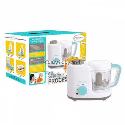 Autumnz - Baby Food Processor (Steam & Blend) With Free Gift