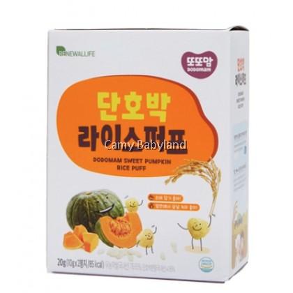 Renewallife DDDODDOMAM Rice Puff (10g x 2pack) - Sweet Pumpkin