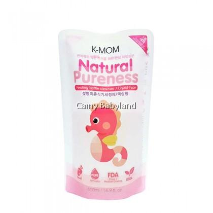 K-Mom Baby Bottle Cleanser 500ml (Refill) - Liquid Type