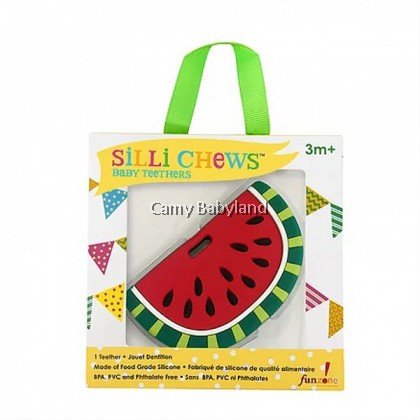 Sillichews Silicone Teethers - Sili Foods (Assorted Designs)