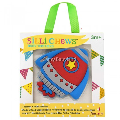 Sillichews Silicone Teethers - Sili Things (Assorted Designs)
