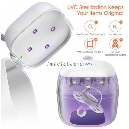 59S - UVC LED Mini Sterilizing Box (Pink)