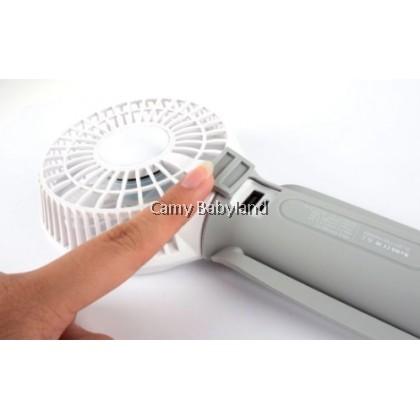 Snapkis 3-In-1 Rechargeable Fan, Light & Powerbank