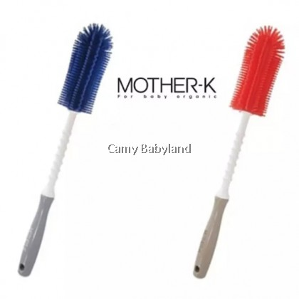 Mother-K Silicone Brush - Straight Shape (Assorted Colors)