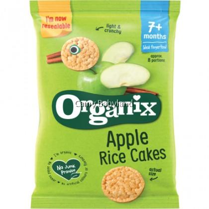 Organix - Apple Rice Cakes (50g)