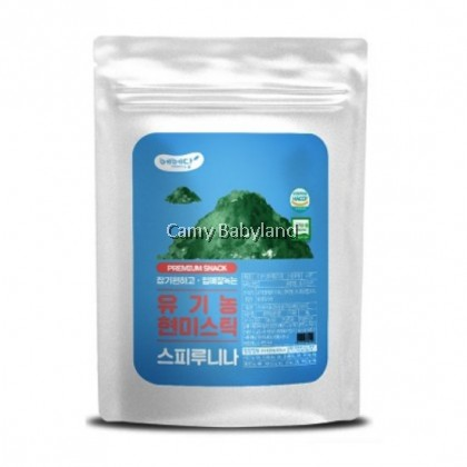 Bebedang Organic Brown Rice Stick Super Food - Spirulina