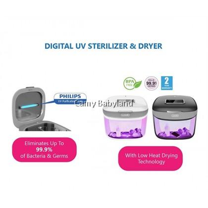 Lunavie - Digital UV Sterilizer & Dryer (Ivory White)
