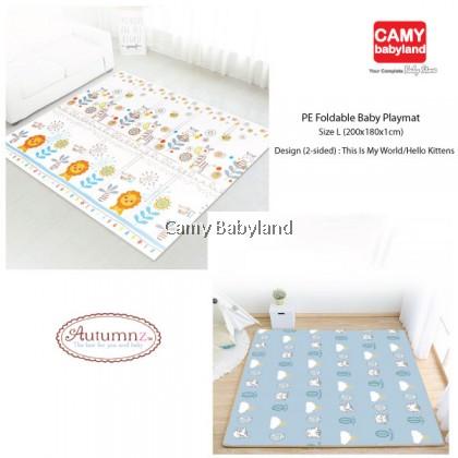 Autumnz - PE Foldable Playmat Size L (200cm x 180cm x 1cm) - Assorted Designs