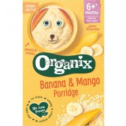 Organix - Banana & Mango Porridge 6m+ (120g)