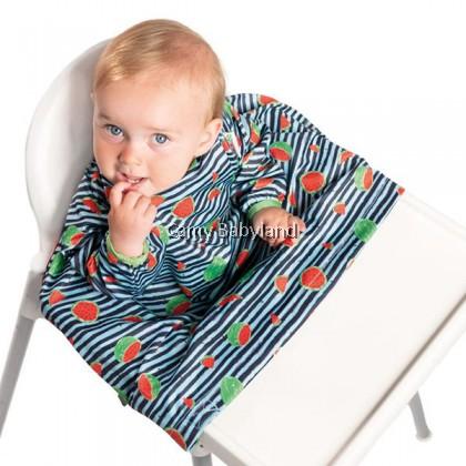 Bibado - High Chair Cover-All Bib (Ocean Blue)
