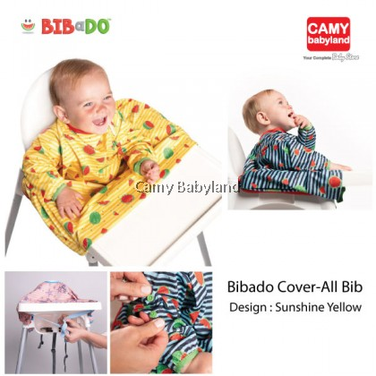 Bibado - High Chair Cover-All Bib (Sunshine Yellow)