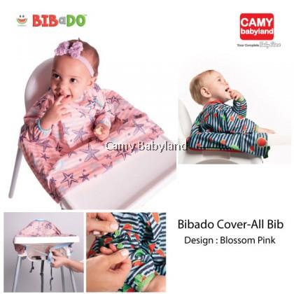 Bibado - High Chair Cover-All Bib (Blossom Pink)