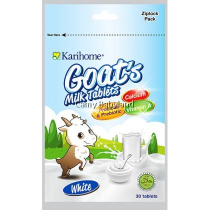 Karihome Goat's Milk Tablets (30pcs) - White