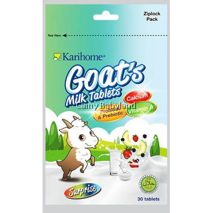 Karihome Goat's Milk Tablets (30pcs) - Surprise