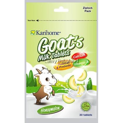 Karihome Goat's Milk Tablets (30pcs) - Honeymelon