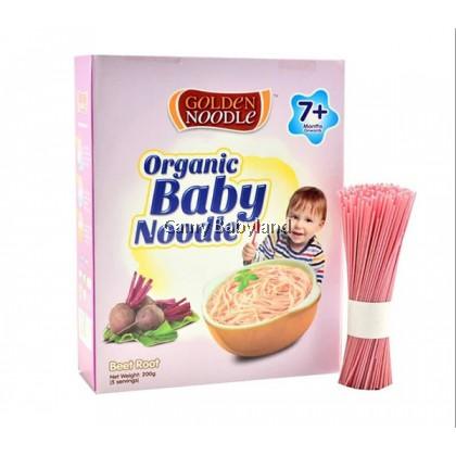 Golden Noodle - Organic Baby Noodle 200g (Beetroot) - Halal