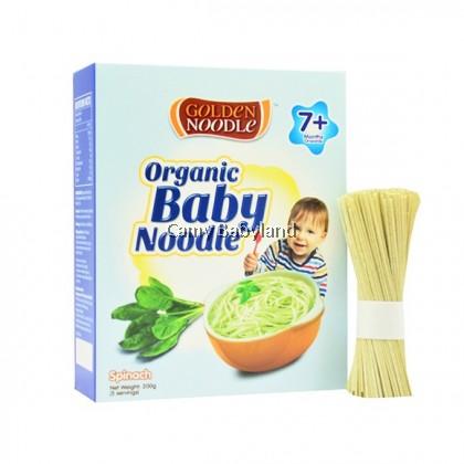 Golden Noodle - Organic Baby Noodle 200g (Spinach) - Halal