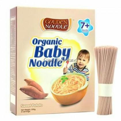 Golden Noodle - Organic Baby Noodle 200g (Sweet Potato) - Halal