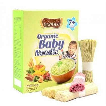 Golden Noodle - Organic Baby Noodle 300g (Multi Vege) - Halal