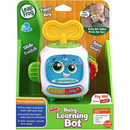 Leapfrog - Busy Learning Bot (6+ months) - Baby Early Learning Toy With Light & Sound