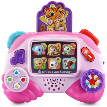Leapfrog - Level Up & Learn Controller (Pink) 6+ months - Baby Early Learning Toy With Light & Sound