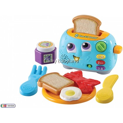 Leapfrog - Yum-2-3 Toaster (12+ months) - Early Learning Role Play Toy For Babies & Toddler