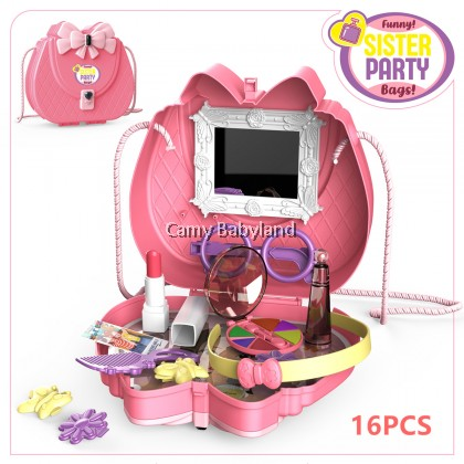 Funny - Sister Party Bags! Girl Toys Handbag - 16pcs makeup included