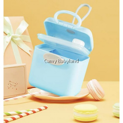 OohLaLa - Portable Travel Airtight Milk Powder Container with Scoop and Leveller Snack Box on-the-go BPA Free