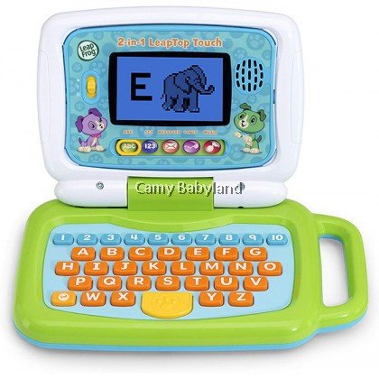 LEAPFROG - 2in1 Leaptop Touch (Green) - 2+ years