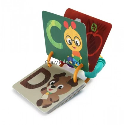 Baby Einstein - A-to-Z Curiosity Cards (Flash Cards & Teether Toy For Babies From 0m+)