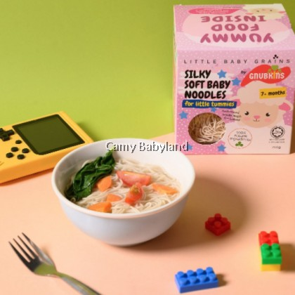 Little Baby Grains - Silky Soft Baby Noodles (7+ months) - 200g/5 individual packs - Halal Certified