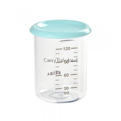 Beaba - Baby Portion Tritan 120ml (Light Blue) - Baby Food Storage Jar