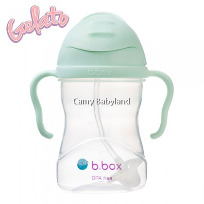 B.Box - Sippy Cup With Weighted Straw (8oz) - Assorted Colours/6m+/BPA Free