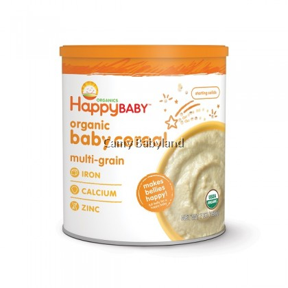 Happy Baby - Organic Baby Cereal MULTIGRAIN (198g) - Suitable for babies from 6mths onwards
