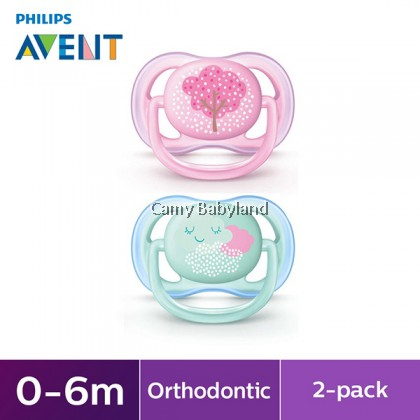 Philips Avent - Ultra Air Soother 0-6mths (Girl)