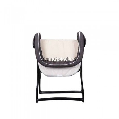 Koopers Lulla - Portable Baby Crib For Newborn & Infant (0-6mths) - Grey