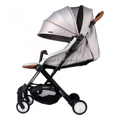 Hybrid - Cabi I Stroller (Silver Grey) - Suitable from newborn to 3 years old (≤15KG)