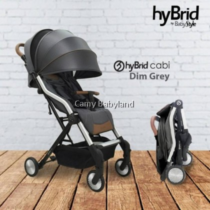Hybrid - Cabi II Stroller (Available in 2 colours) - Suitable from newborn to 3 years old (≤15KG)